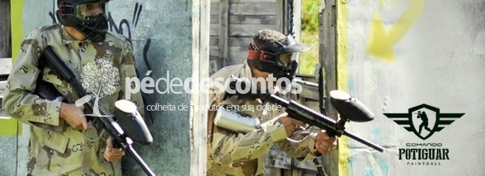 2 Horas de Paintball com 100 Bolinhas para Final de Semana!